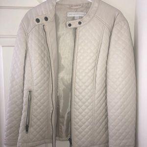 New York & Company Leather Jacket